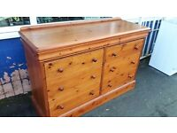 Lindale Solid Pine Large Chest of Drawers