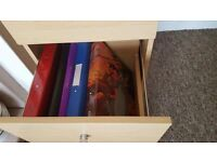 Bedside tables ,chairs,blends and other ithems for sale.