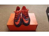 Nike Hypervenom Phelon SG Orange/Purple football boots for sale