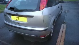 Ford Focus Mk 1 Compleat Rear End, Moondust Silver (2002)