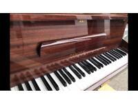 ZENDER PIANO Small Upright 6 Octave YES PIANOS Gloss Mahogany