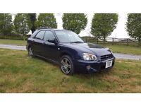 2004 Subaru Impreza 2.0 Sport AWD Estate, MOT until 5th June 2018, full stainless steel exhaust