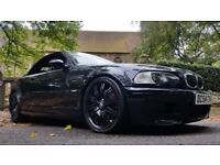 2005 BMW M3 3.2 CONVERTIBLE 6 SPEED MANUAL IN RARE CARBON BLACK GENUINE 50100 MILES ONLY CAMERA