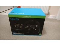 Logitech G920 wheel in box