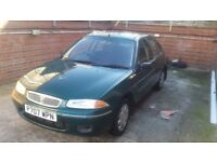 Rover 1.6 petrol automatic