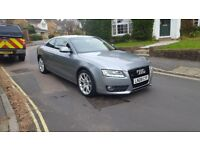 2008 AUDI A5 SPORT 3.0 TDI QUATTRO COUPE 6 SPEED MANUAL GREY 1 PREVIOUS OWNER SERVICE HISTORY 2 KEYS