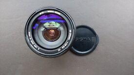 Sigma 28-200 zoom lens