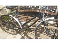 Vintage ladies bike. Hercules. Serviced.