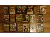 Boxing dvd's