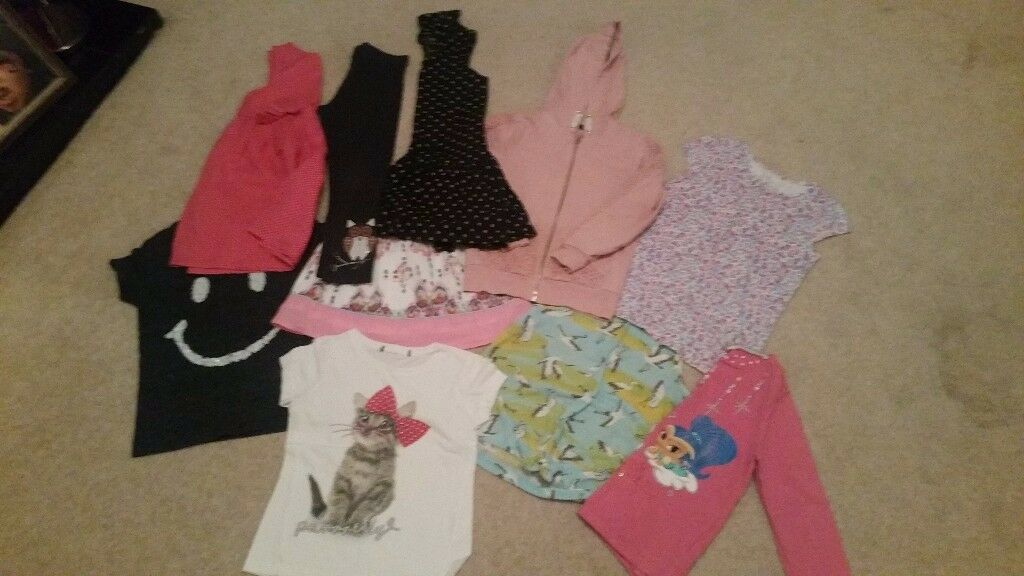 Bundle of girls clothes for sale aged 5-6 years
