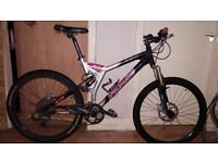 Specialized xc stump jumper FSR full suspension bike