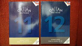 Callan Method Books, books 11 and 12