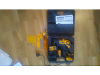 Cordless Reciprocating Saw with Blades and two Batteries
