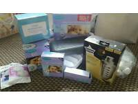 Breastpump and extras for sale