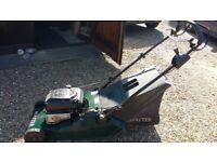 Hayter 48 self-propelled petrol lawnmower