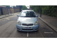 2005 Toyota Yaris 1.3 Blue 5dr hatchback AUTO Petrol MOT aug2018 full service history 2keys,sunroof