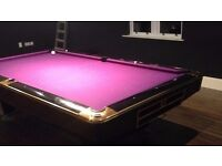 Full size championship american pool table