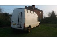 Ford Transit LWB High top white 3500 KGS.