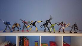 LEGO Bionicle set of 8 figures