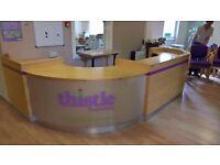 Large Reception Desk