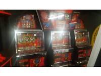 3 player coin operated fairground arcade machine