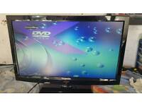 24 inch techwood led hd tv dvd combo