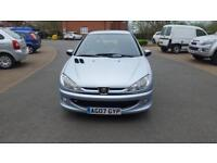2007 Peugeot 206 1.4 Look 5dr Full Service History