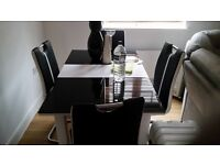 dinning Table and Chair For Sale