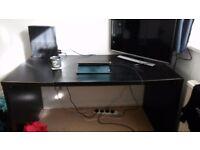 Large Ikea Desk - Black