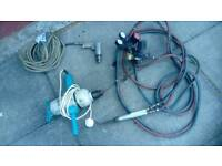 Air Drill electric drill ,gas torch and gauges