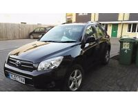2007 toyota rav4 xt3 2.2d4d/fsh/new tyres/107k/6 speed