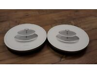 Brand New John Lewis 2 sets of Cake stands (two levels each)
