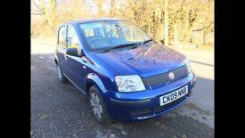 2009 FIAT PANDA ACTIVE ECO 1.1 FSH 50k £30 TAX