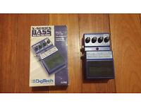 REDUCED Digitech Bass Multi Chorus - Bass effect pedal
