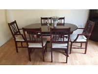dining table+6chairs