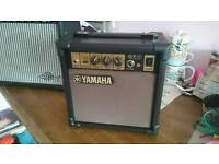 Yamaha GA-10 Practice Guitar Amp. Cool Retro Brown/Gold