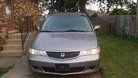 Honda Odyssey 2000 .NOT WORKING FOR PARTS!