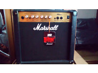 Marshall Electric Guitar Amp - MG15CD - Home Use only and Hardly Used