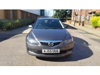 MAZDA 6 TS 55 PLATE 2005 2 PREVIOUS OWNER 89000 MILES VOSA MOT HISTORY 6 speeed manual aircon alloy