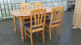 Table anf chairs