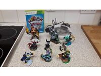 Skylanders Trap Team for XBOX 360 with portal and 9 figures