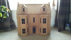 Victorian dolls house, 3 storey - collectors