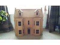 Victorian dolls house, 3 storey - collectors