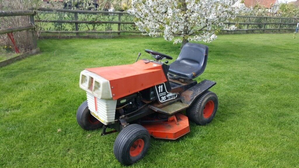 Cash waiting for your old ride on mower dead or alive