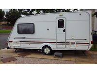 2 berth caravan. Challenger Swift 470se. Year 2000.