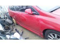 HONDA CIVIC TYPE-R EP2/3 DRIVERS DOOR MILANO RED