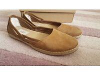Genuine UGG tan suede shoes BNWOT