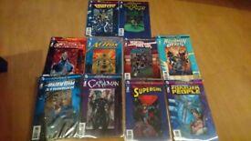 DC comics The new 52 futures end 3d lenticular variants