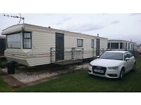 STATIC CARAVAN FOR RENT IN INGOLDMELLS SKEGNESS 3 BEDROOMS AND CLOSE TO ALL ATTRACTIONS, BE QUICK !