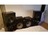 Powerful 2.2 Custom built speaker set (Complete Home Cinema) RRP £2350